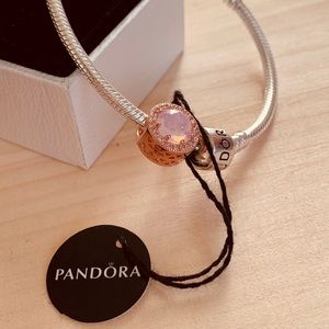 Pandora Radiant rose charm
